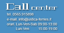 ustica ferries: Call Center
